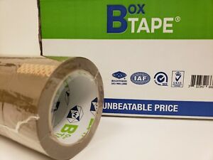 540 Rolls Beige Carton Packing 1 7 Mil Shipping Tape 2 X 100 Yards Lot Of 15