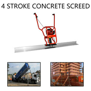 Gx35 37 7cc 4 Stroke Gas Concrete Wet Screed Power Screed Cement 6 56ft Board