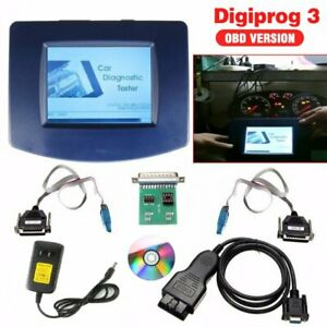 Car Digiprog 3 Odometer Programmer V4 94 Obd2 St01 St04 Cable Correct Kit Be