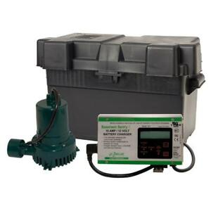Zoeller 507 0005 Basement Sentry 12 Volt Dc Battery Backup Sump Pump