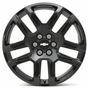 2019 Chevrolet Blazer 20x8 5 Split Spoke Gloss Black Wheel 84208837 Oem Gm