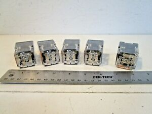 Potter Brumfield Krpa 11dg 125 Ice Cube Relays 8 Pin 120 240 Volt Lot Of 5
