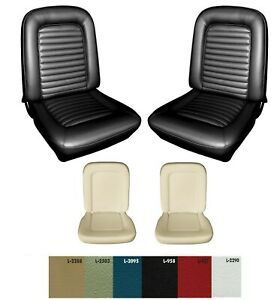 1965 Mustang Bucket Seat Cover Upholstery And Seat Foam Set Your Color Choice