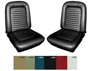 1965 Mustang Bucket Seat Cover Upholstery Your Color Choice By Distinctive