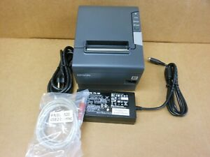 Epson Tm t88v M244a Thermal Printer Usb And Serial Interface Power Supply