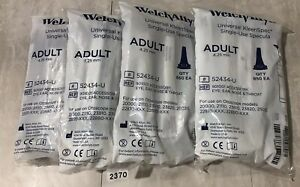 Welch Allyn 52434 u Kleenspec Disposable Otoscope Specula Lot Of 4 2370
