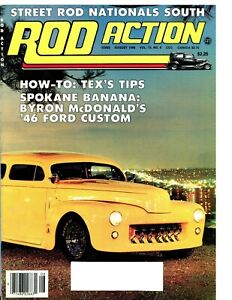 Street Rod Action August 1986 With 1924 1925 1926 1927 1928 1932 1941 1948 Ford