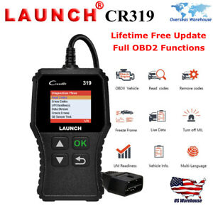 Launch X431 Cr319 Obd2 Auto Fault Code Reader Diagnostic Scanner Tool As Cr3001