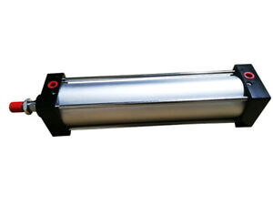 New Pneumatic Standard Cylinder Sc 80 X 300 Bore 3 Stroke 12 Double Acting