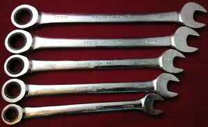 Craftsman 12 Point Ratcheting Wrenches Metric 5pc