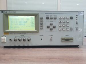 Hp Agilent 4284a Precision Lcr Meter With Option 001 006 20hz 1mhz