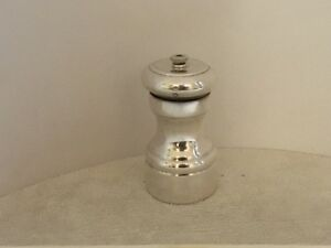 Sterling Silver Pepper Mill Made In Italy