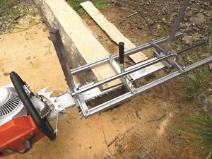 Us Portable Chainsaw Mill 36 Inch Planking Milling Bar Size 14 To 36 Fast