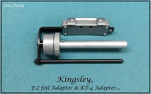 Kingsley Machine E z Foil Adapter Kt 4 Adapter Hot Foil Stamping Machine