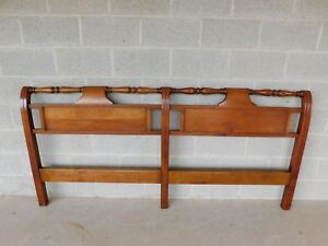 L J G Stickley Cherry Valley Cottage Chippendale Style King Size Headboard