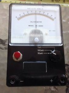 Galvanometer Sk 50001 Detecting Existence Of Small Electric Currents