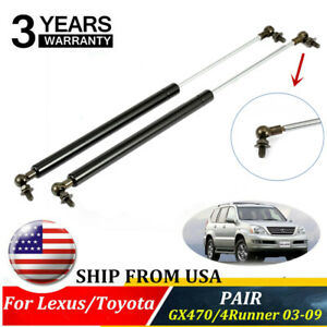 2xfront Hood Lift Supports Shock Strut For Lexus Gx470 Toyota 4runner 03 09 6228