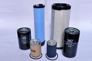 Mahindra Tractor Filter Kit Economy Pack 6 Filters For 4500 5500 6000 6500 Etc
