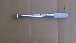 Snap on Torque Wrench Adj Click type Us Fixed 200 1 000 In lb 3 8 Dr Qd21000