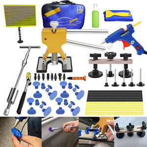 Paintless Dent Removal Puller Lifter Tools Line Board Repair Hammer Hail Kit Db
