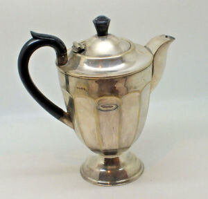 Antique Silver Plated Hot Water Coffee Pot