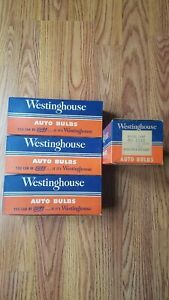 4 Boxes 10 Count Westinghouse Mazda Lamps Bulbs No 1143 Headlights Spotlights