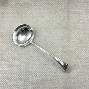 Art Deco Silver Plated Sauce Ladle Mappin And Webb Gravy Serving Spoon