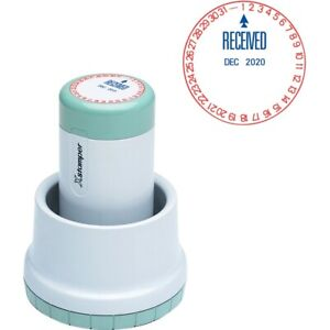 Xstamper Xpedater Pre inked Stamp 22602 1 Each