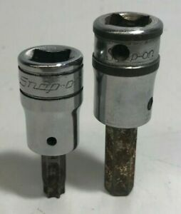 Snap On 3 8 Drive Torx Sockets Ftx40a Fam8a Used