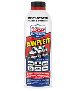Lucas Oil 10016 Complete Engine Treatment 16 Oz Bottle