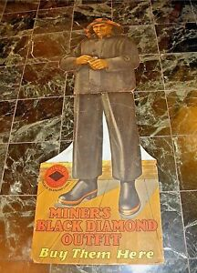 Whaling Miner S Black Diamond Early Life Sized Outfit Display Whaler Fisherman