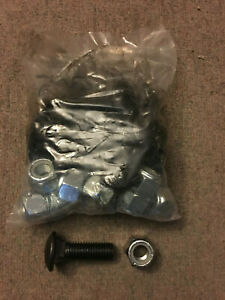 Western Snow Plow Cutting Edge Bolts 90396k 13 5 8 X2 Bolts And Lock Nuts