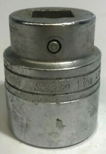 Snap On Ldh462 3 4 Drive 12 Point Sae 1 7 16 Shallow Socket Usa Used