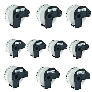 10roll Dk 2210 Continuous Label For Brother Ql 570 1050 570vm 720nw 710w W frame
