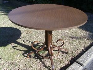 Bentwood Dining Table With 8 Scrolls
