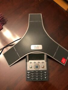 Cisco Polycom Cp 7937g Unified Ip Conference Station Phone With 2 Microphones
