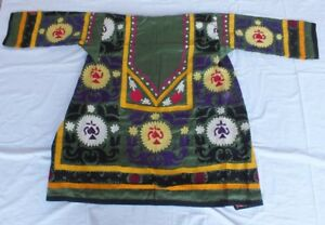 Z 971 Chapan Made From Uzbek Suzani From 80 S Size S M