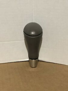 00 06 Mercedes Benz S430 S500 S55 S600 Shift Knob Tan Leather Good Condition