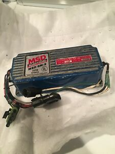 Msd Ignition Msd 6460 6m 2 Marine Ignition Pulse Amp Certified Correct By Msd