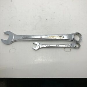 Vintage Sk S K C24 3 4 Combination Wrench And C 14 Combination Wrench
