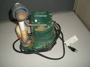 Zoeller M53 d Submersible Pump 115vac Tests Ok For Switch Action And Pumping