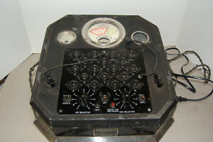 Antique Weston Tube Tester Model 676 Made In The 1930 s Newark Nj U s a
