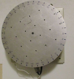 Arrick Robotics 12 Inch Rotary Positioning Table Model Rt 12 With Motor