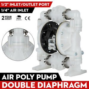 Air operated Double Diaphragm Pump 1 2in Air Inlet Qby4 25pp 1inch Outlet
