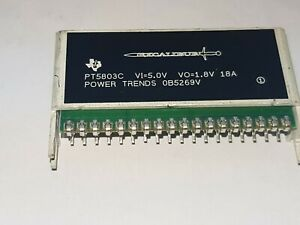 T i Pt5803c Module Dc dc 5vin 1 out 1 8v 18a 18 pin Sip obsolete