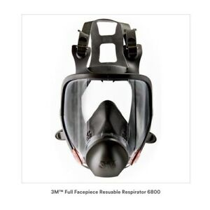 Full Face 3m Oem Equipment Respirator Large Gas Face Mask Painting 6900 Usa