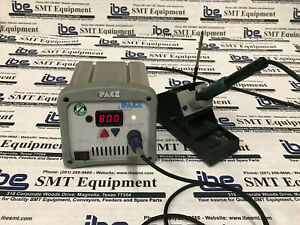 Pace St 50 Digital Soldering Station with Iron Stand Extra Tip W warranty