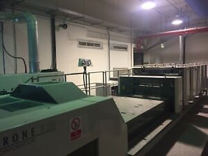 Komori Lithrone Ls529 5 color Straight Press Coater W infra red Drying New 13
