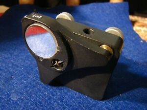 Newport Nrc 9812 11 Classic Corner Optical mirror lens Mount 1 0 3 Adj Knob