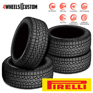 4 X New Pirelli Scorpion Atr 275 55r20 111s All season All terrain Tires